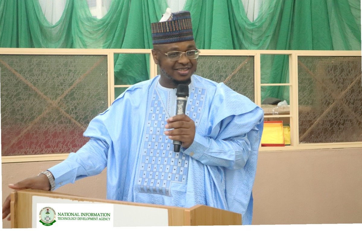 Governor Inuwa Yahaya is passionate about ICT, as the Head of the ICT Transition Committee, I am pleased that His Excellency read our recommendation as to use the Gombe International Conference Centre as an ICT Training Hub for the North East Region. @DrIsaPantami #NCSGombe2019