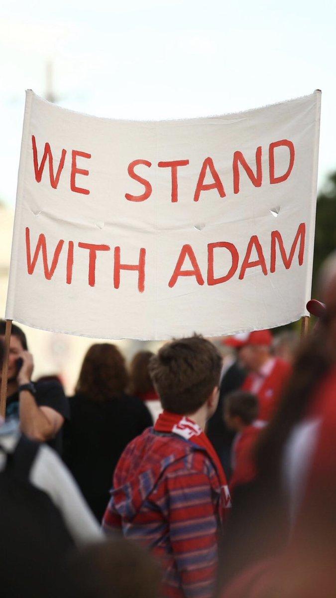 #WeStandWithAdam ❤️