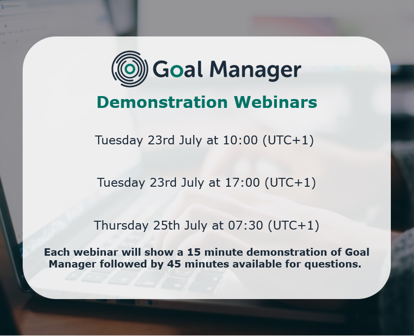 Register now for a live demo of our innovative Goal Manager software, designed to make the process of setting, monitoring and reporting MDT goals more effective and efficient  https:// tinyurl.com/y39kzmju      #neuropsychology #goals #braininjury #tbi #abi #rehabilitation #webinar<br>http://pic.twitter.com/Cav9pKEEbL