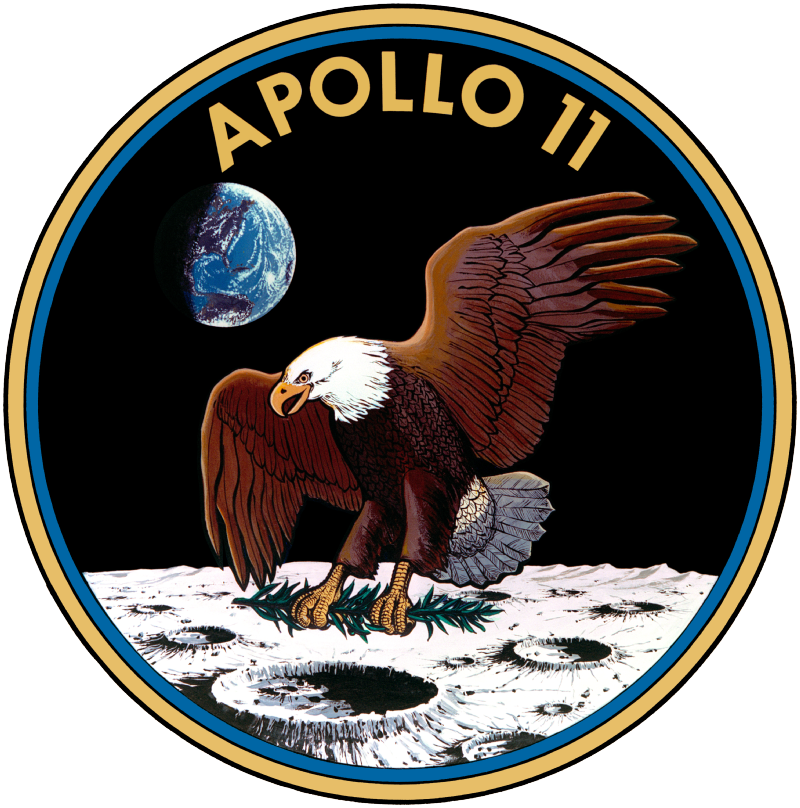 [SOLUTION] Yes, Apollo 11's emblem was... an eagle! 🦅   #Apollo50 #Moon #ParisAirShow #PAS19 #SalonDuBourget #AvGeeks #AvGeek