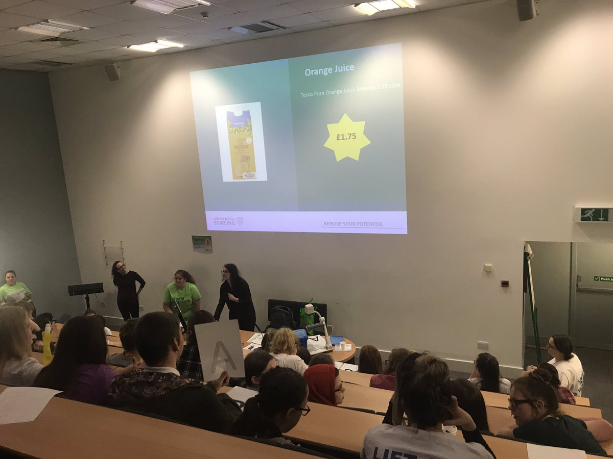The realities of doing your own shopping are being revealed with @StirUni this morning! #StudentLife #LO2S19<br>http://pic.twitter.com/BvASKRgKhc