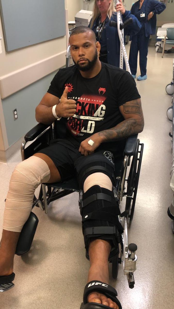 Recent UFC title challenger Thiago Santos: 'Everything is fixed' after four-hour surgery