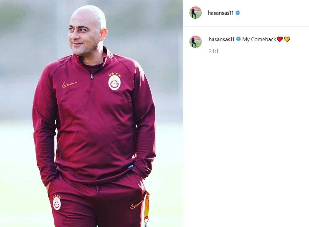 Hasan Şaş imaj tazeledi. #Galatasaray #HasanSas https://t.co/58cMWFtdjm