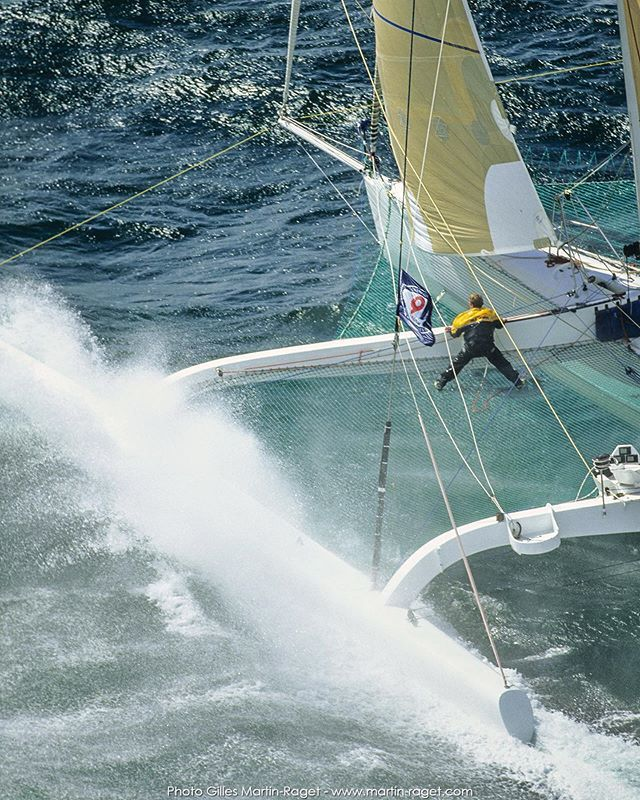 Those were the Orma 60s days  #sailing #yachting #instasail #yachtracing #regatta #sailingstagram #sailor #sail #lovesailing #boating #barcos #bateau #sailingphotography #instasailing #sea #oceanside  #instagood #marine #superyachts #multihull #sealovers… https://ift.tt/2Ybs1e6