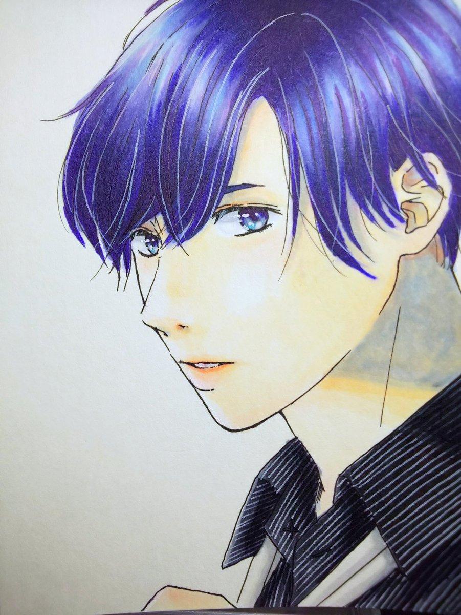 Tera Shio 寺田栞 On Twitter 前々から色気のある男の人を描き