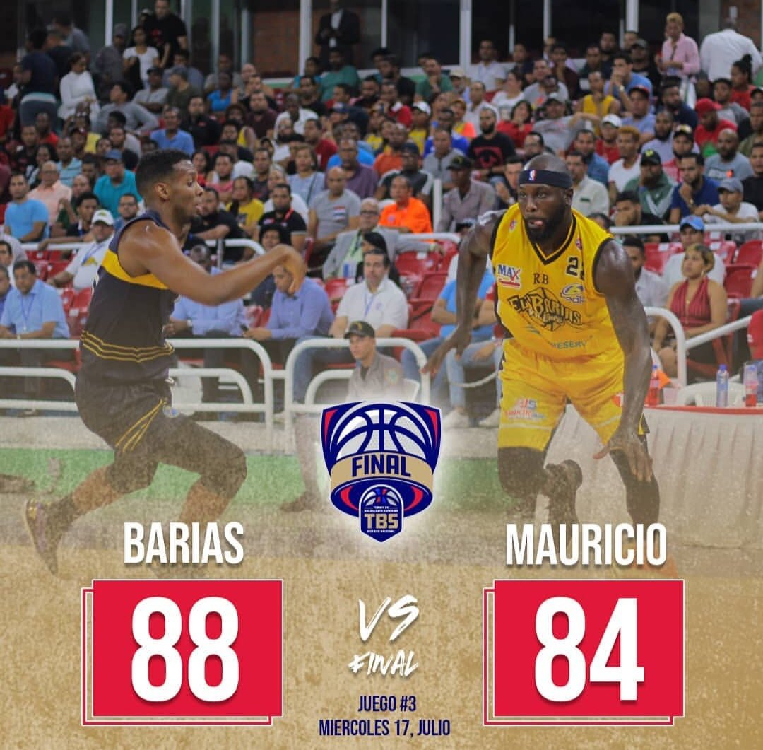 @BariasBBC pone la #seriefinal del @tbsdistrito en JAKE 3-0