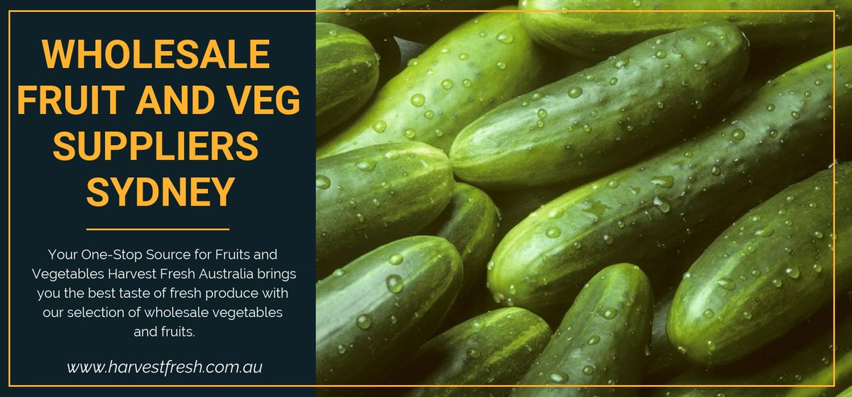 The online market for wholesale fruit and veg suppliers in Sydney at https://t.co/hXVveHnsQD  Find Us : https://t.co/yl6J8xIR5Z  If you want to know about one of the best services dealing with the wholesale business of fruits and vegetables in the market. https://t.co/pXUd4rrZbk