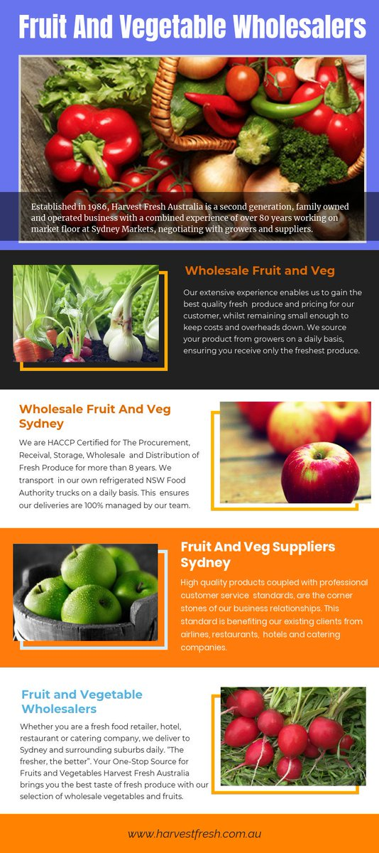 Trusted fruit and vegetable wholesalers with express delivery at https://t.co/U1Whrp9FNQ  Find Us : https://t.co/yl6J8xIR5Z  If you want to know about one of the best services dealing with the wholesale business of fruits and vegetables in the market. https://t.co/pYCJGQK5oz