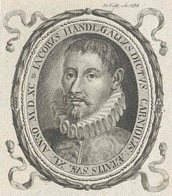 Today in 1591 Death of #composer Jacobus #Gallus #MusicHistory #classicalmusic