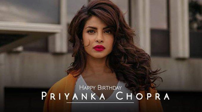 Happy birthday, Priyanka Chopra -