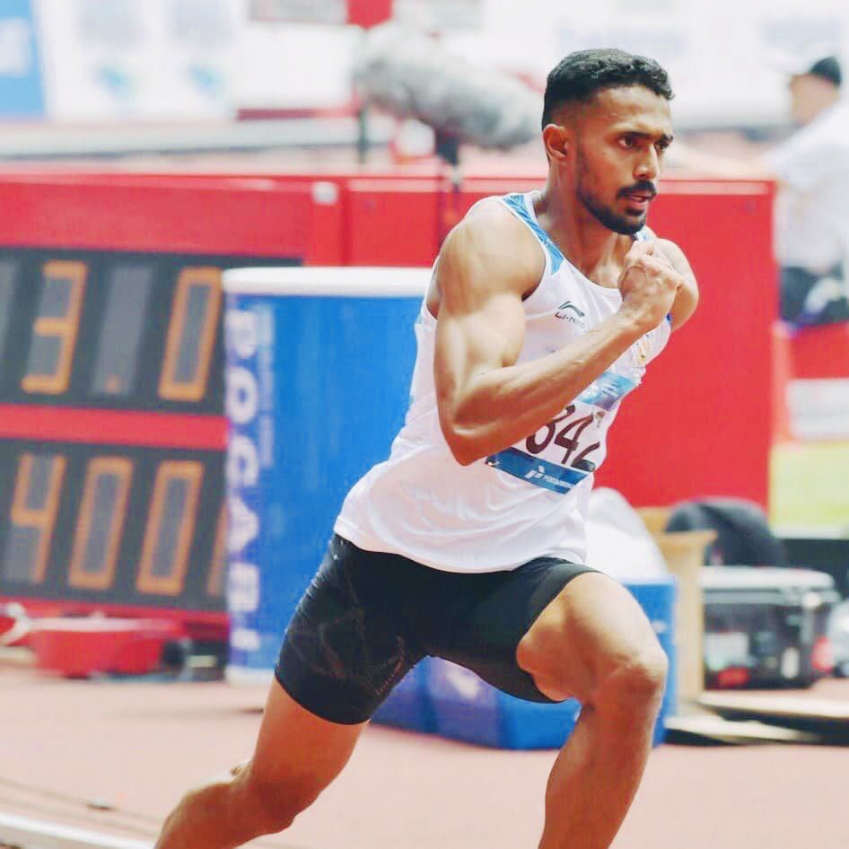#TaborAthleticsMeet #CzechRepublic@muhammedanasyah clinches gold🥇for #India in Men's 400m with a timing of 45.40 secs. Well done champion! 🇮🇳👏👏