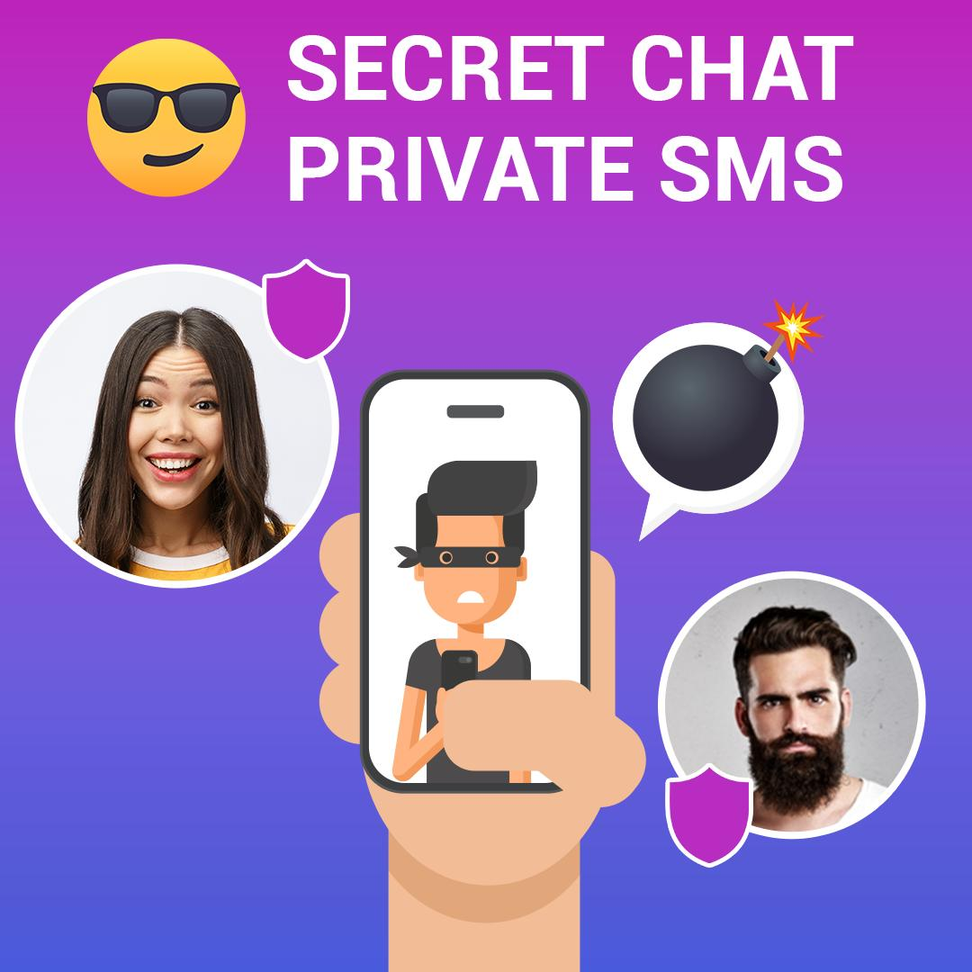 Secret Chat has a self destruct timer for sent and received messages: play.google.com/store/apps/det…