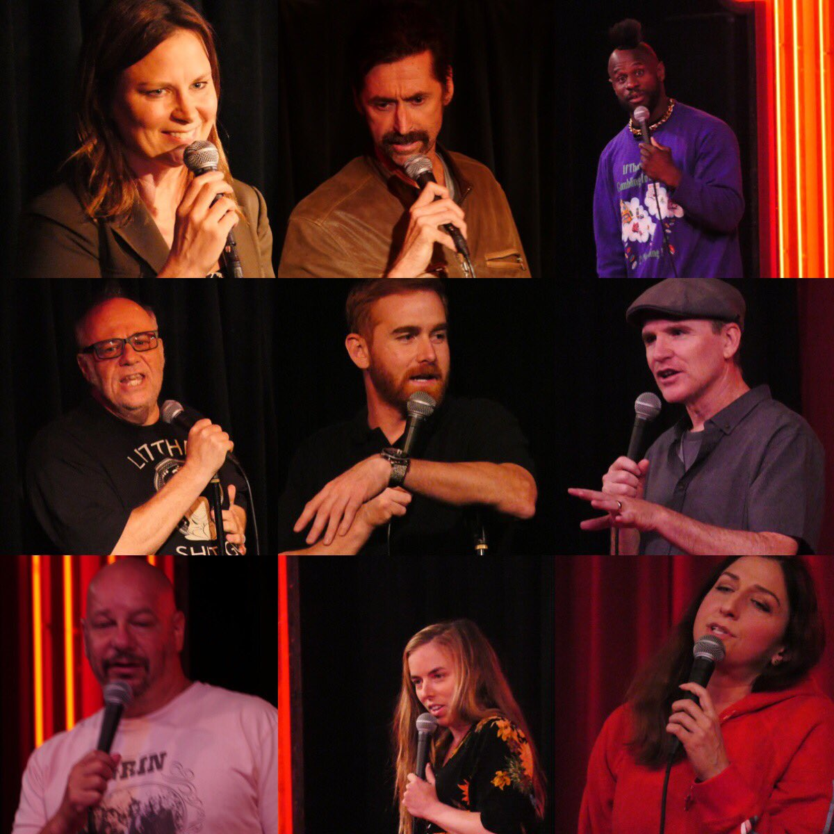 Packed houses, stacked lineups, thank you to everyone who came out tonight! #thecomedystore