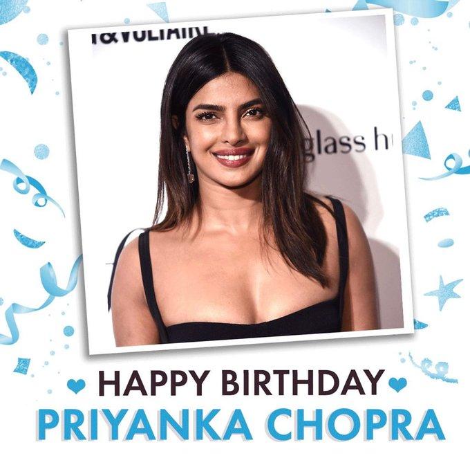 I am biggest fan of Priyanka Chopra happy birthday pc