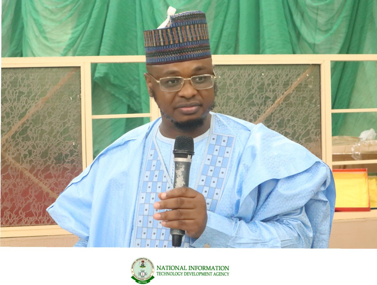 There are several infrastructures built by the Emir of Gombe for the State, through his wisdom, he facilitated the ICT training for Persons Living with Disabilities and also the deployment of various ICT facilities in several Institutions. @DrIsaPantami #DGNITDA #NCSGombe2019