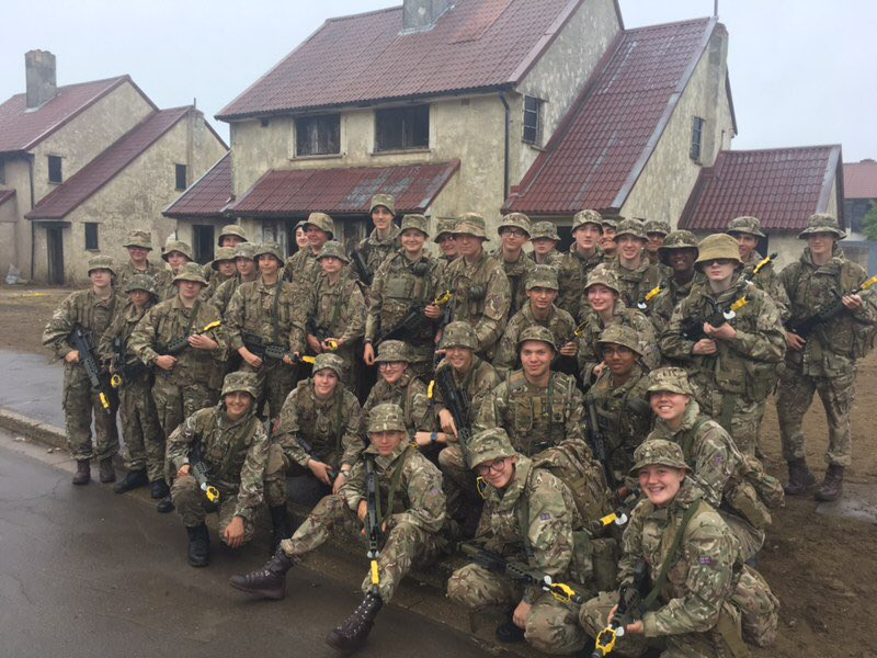 @BeechenCliff and  @KESBath pupils engaged in the CCF Summer Camp activities.