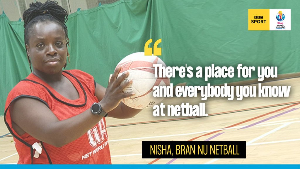 The day after the #NetballWorldCup, @EnglandNetball invite *you* to give it a go for FREE! 😁@JoannaAdams & Bran Nu Netball Club spoke to #GetInspired about the 'Pledge Your Court' campaign...Find out more 👉https://bbc.in/2SqKoq7#NWC2019 #ChangeTheGame