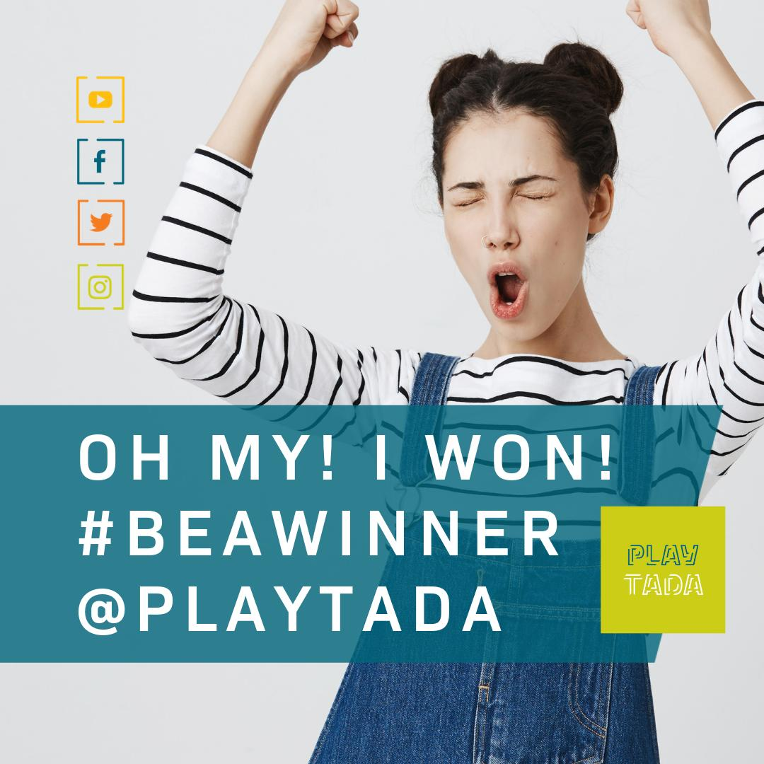 DEBBIE MILLER... you are the @playtada winner of the #iPad 3G  Please look out for your email.  Congratulations!  Whoop! Whoop! AMAZING...  Massive apologies for the delay in announcing our winner. Technical gremlins. #win #prizedraw #prize #playtada #beawinner<br>http://pic.twitter.com/hJbbp1g9S6