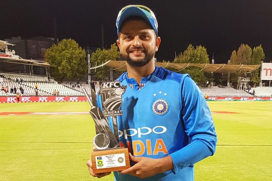 Thanks @ImRaina for your follow, you're a true inspiration for the spirit of winning! 🏆Still falling in ❤️with #Indian🇮🇳 culture and sports every day, can't wait to see a live #cricket game! 😊🏏🏏