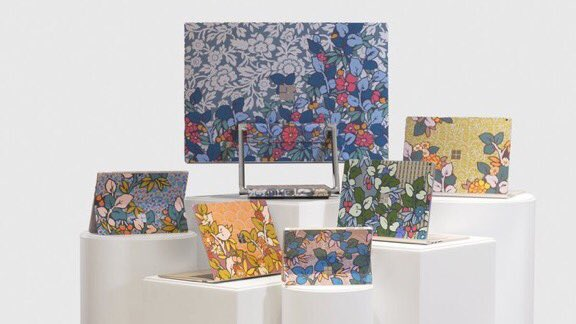 Last chance today to place bids on the uniquely designed @surface devices created by the amazing @MicrosoftUK & @LibertyLondon teams with their stunning charity auction in support of our life changing work 💚http://bit.ly/2XCG3pN  #MicrosoftLDN