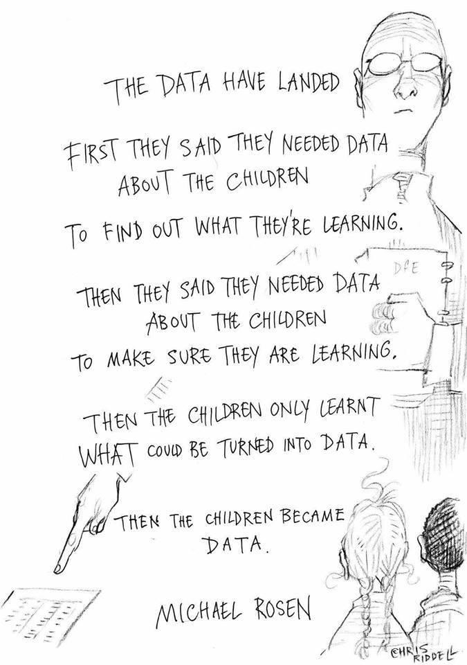 Lest we forget: We build good humans, not just good numbers. #Data cannot tell the whole story, #EDUcators do. #education #ib #data @MichaelRosenYes