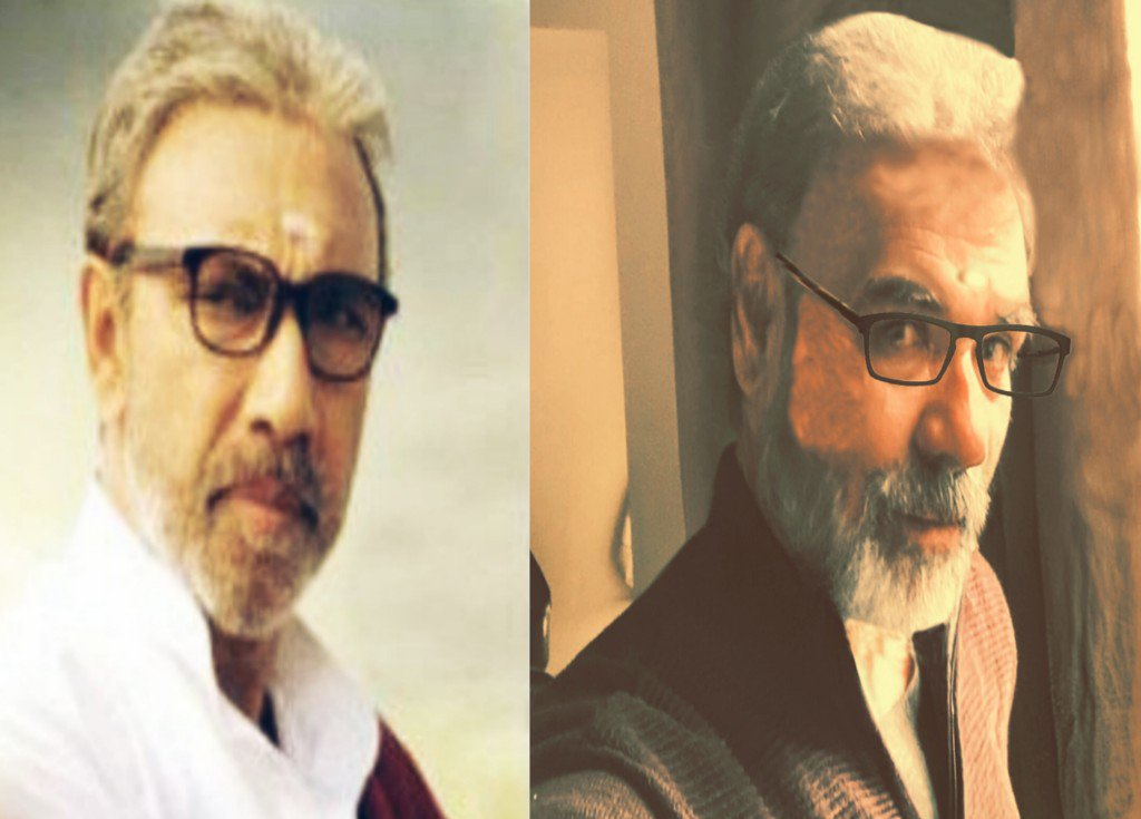 #Sathyaraj @actorvijay