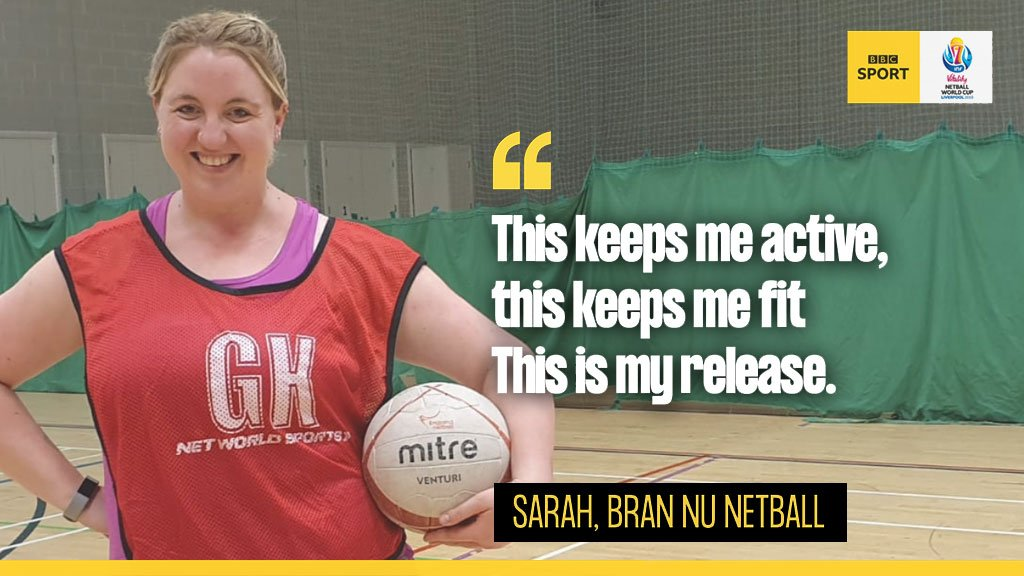 Who wants to play #netball for free??@EnglandNetball are on a mission to make the country fall in 💙Hear from real players and find out why you should give netball a go with 'Pledge your Court' 👉http://bbc.in/2SqKoq7#NetballWorldCup #ChangeTheGame