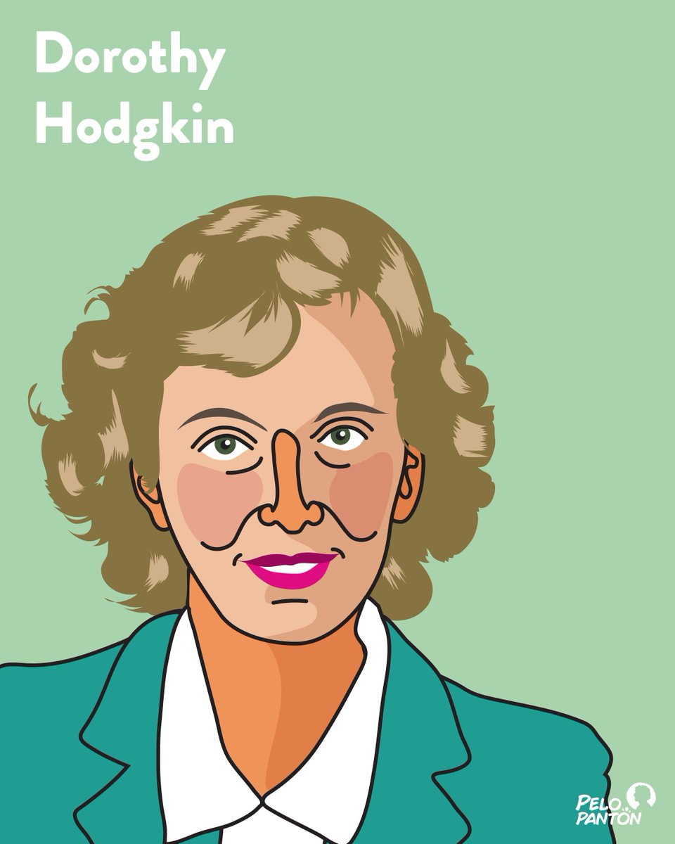 #DorothyHodgkin #Científicas #NobelPrice #WomenInStem 🥰