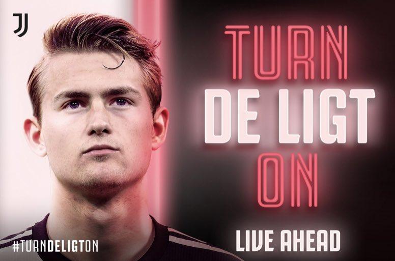 Matthijs de Ligt, nuevo jugador de la Juventus.