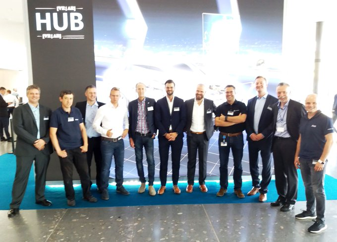 Auf dem Daimler EDM CAE Forum 2019 in #Stuttgart: Unser Team auf dem Daimler...