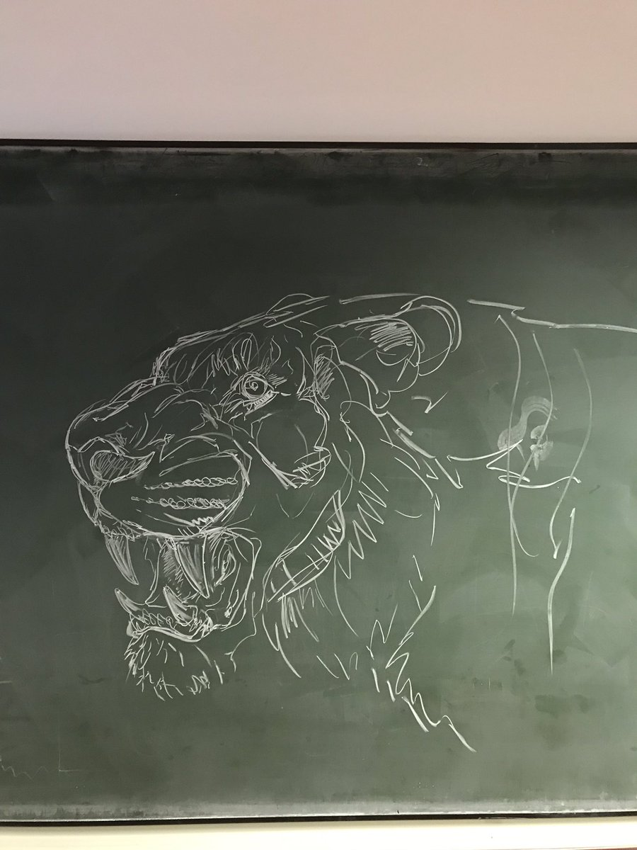 Someone got creative with the chalk last night. @WarwickLifeSci #Science #art