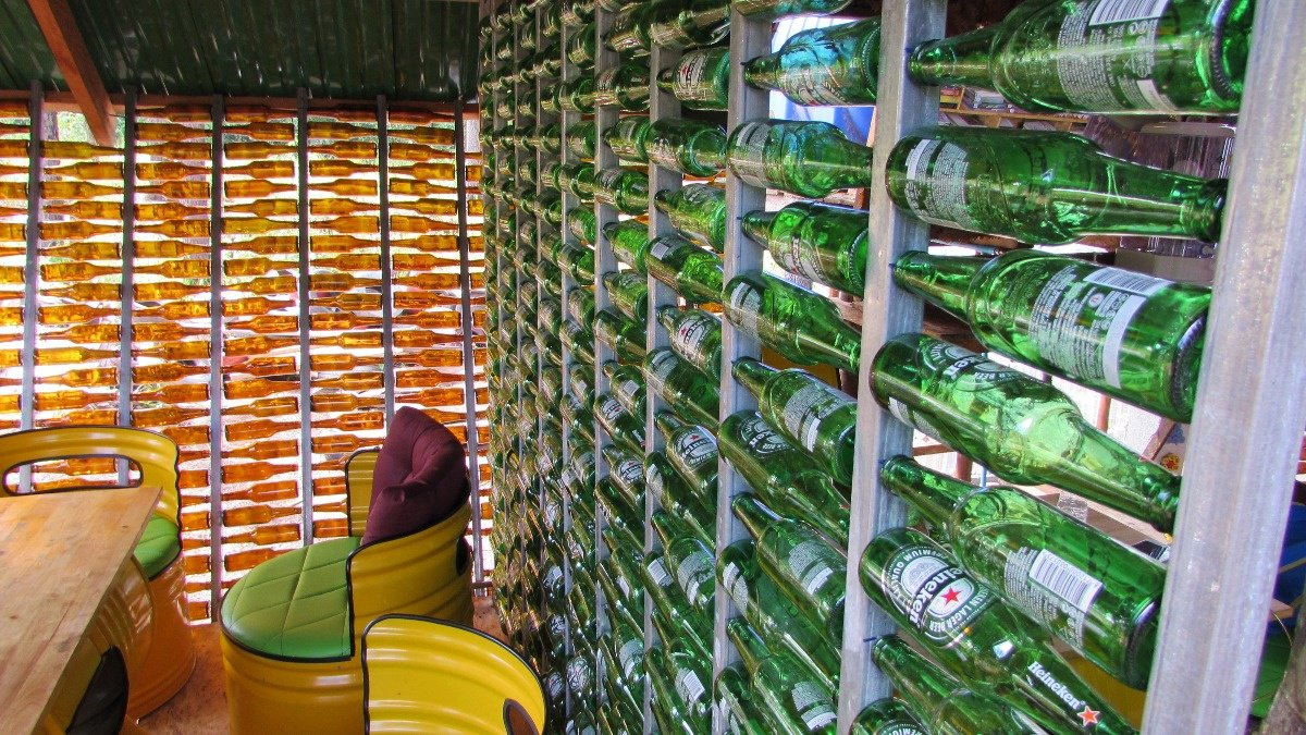 Inside a Cambodian cafe built out of trash https://reut.rs/2XU9Ll9