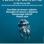 Image for the Tweet beginning: 🌏 #theplasticbattle organitza una nova