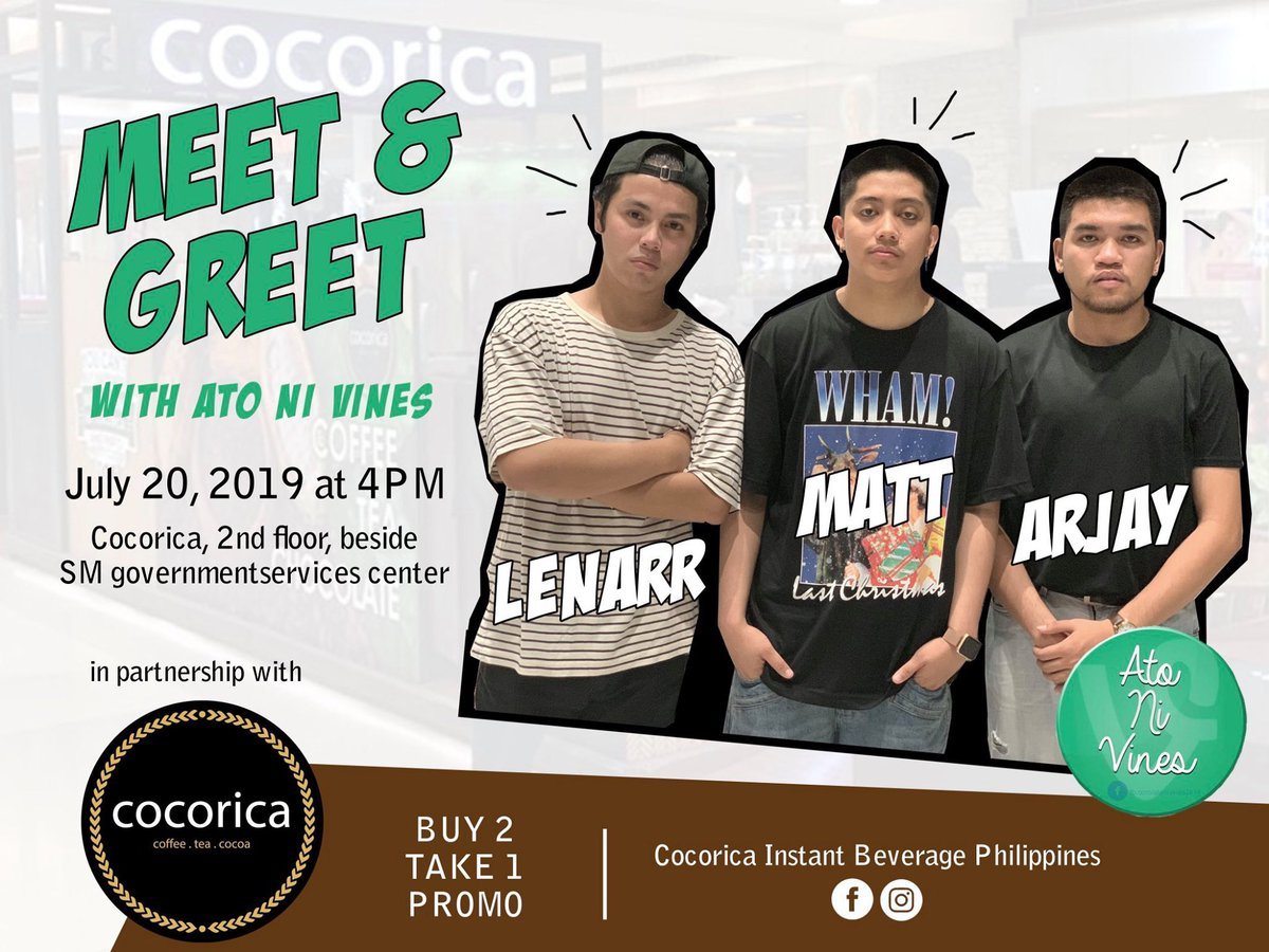 Kitakits ta this July 20 (Saturday) at Cocorica SM City Cebu.  See you guys there!  <br>http://pic.twitter.com/7RJl3fWHX9