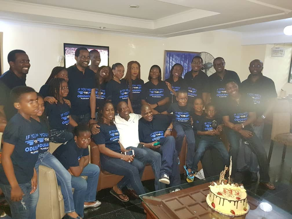 Throwing it back to when the Odusanyas opted to try out some Brandocks awesomeness. . Need garment branding ? We've got you covered. . #throwbackthursday #throwback #thursday #clothing #style #wears #tshirtprinting #printshop #tshirtbranding #tailoring  #garmentbranding