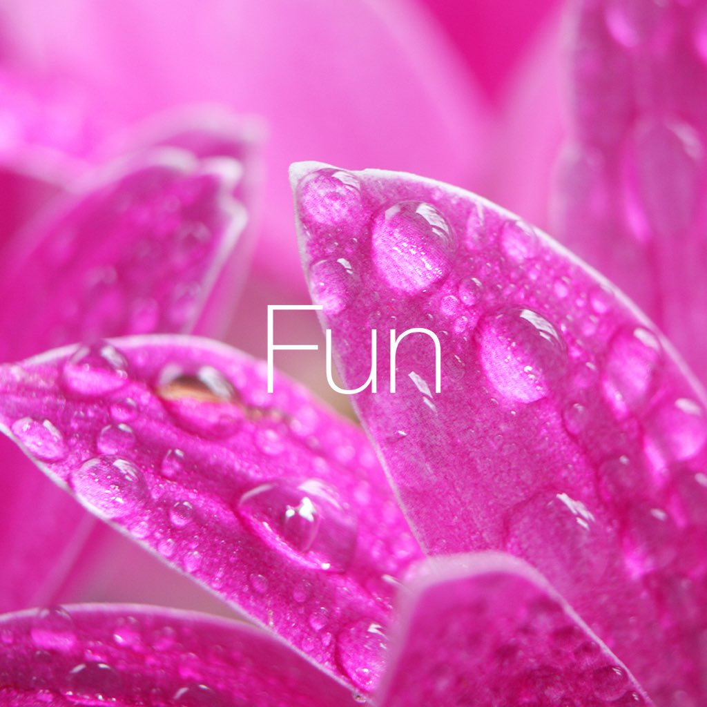 Fun – happiness, joy and excitement in all that we do #fun #values #quintessence #aboveandbeyond