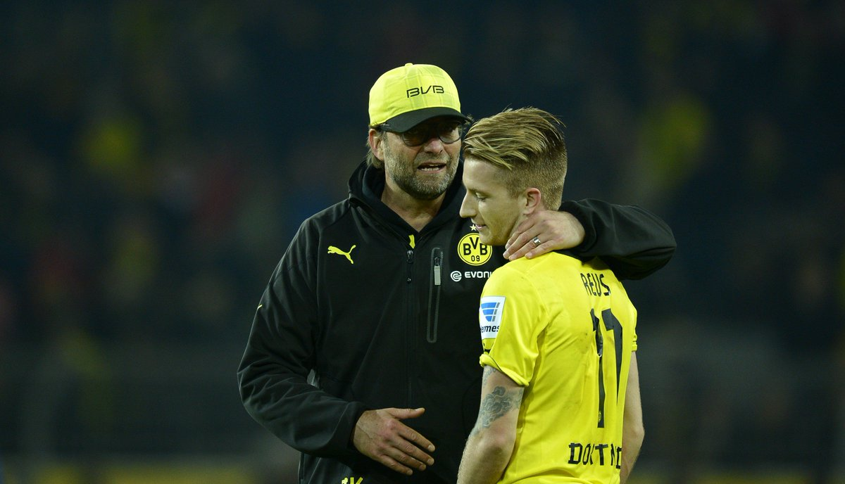 🗣 Reus on Klopp: Oh my god, Jurgen was such an animal! You only knew somebody like him from TV. If Jurgen sits in front of you with his aura, then that is quite impressive. He pulls you under his spell and will not let you go.