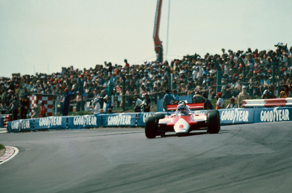 #OnThisDay in 1982, Niki Lauda won the #BritishGP at @Brands_Hatch after battling his way up from fifth position on the grid in the McLaren MP4B. 🇬🇧🏆