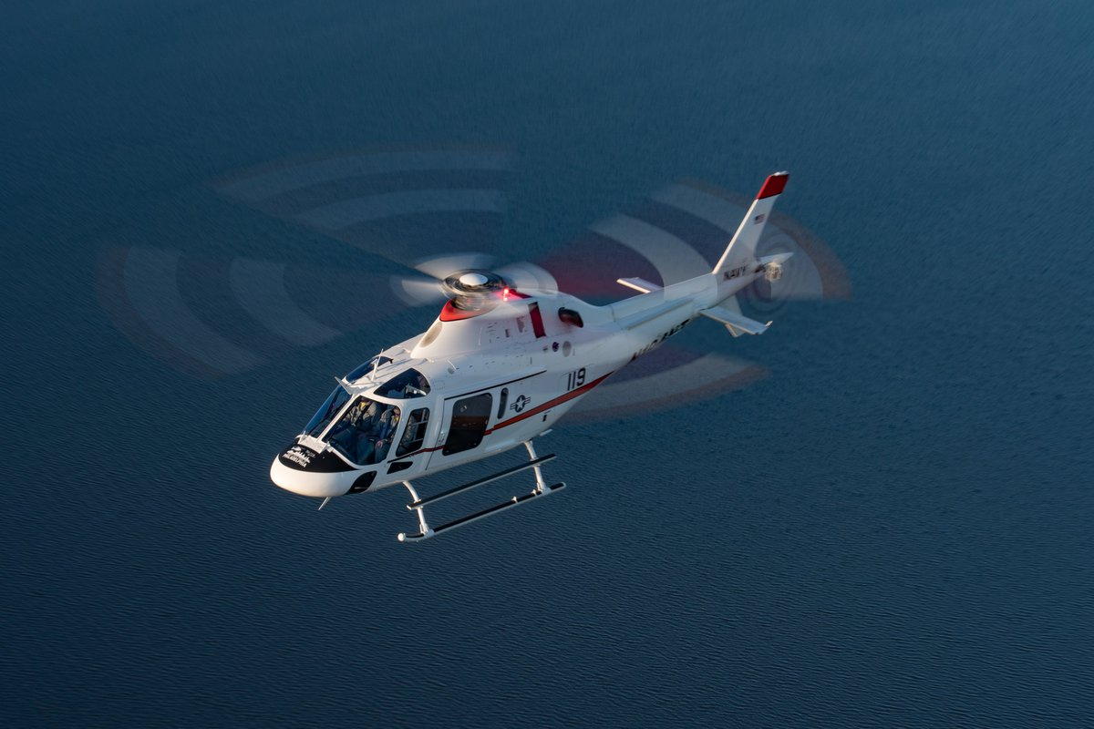 🔴#PressRelease #Leonardos #TH119 helicopter received #IFR supplemental type certification by the @FAANews. The #TH119 is #Leonardo's bid to replace the @USNavy's fleet of aging TH-57 #training helicopters #AdvancedHelicopterTrainer lnrdo.co/32z6sDG