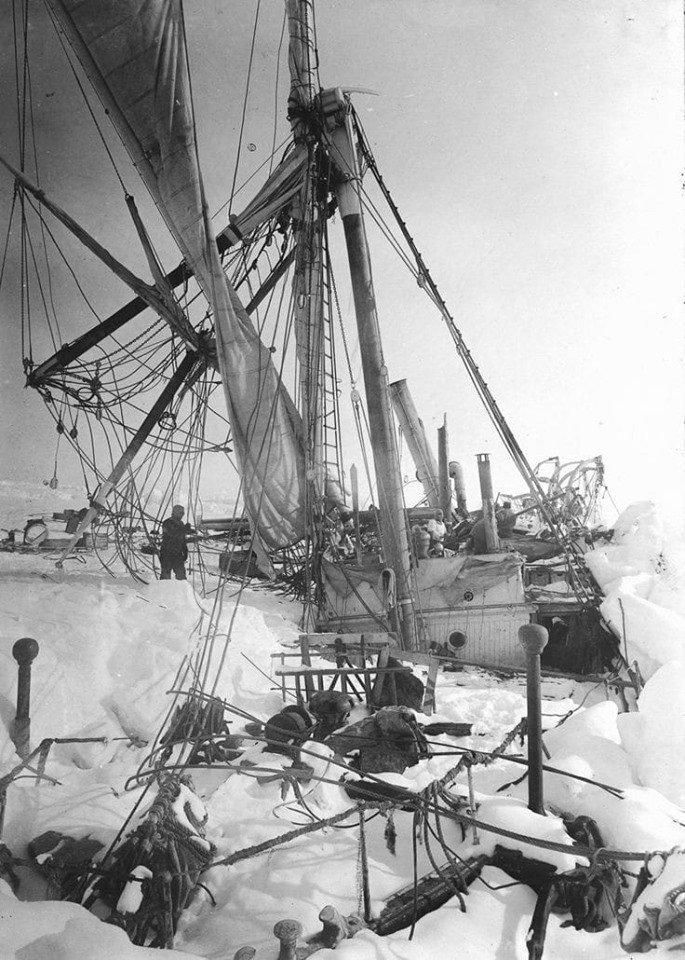 shackletons lost ship endurance - 685×960