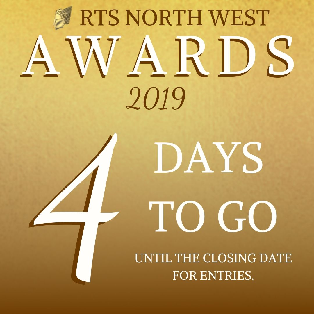Only four days left to submit your entries via the RTS portal: awardsentry.rts.org.uk/entrant/