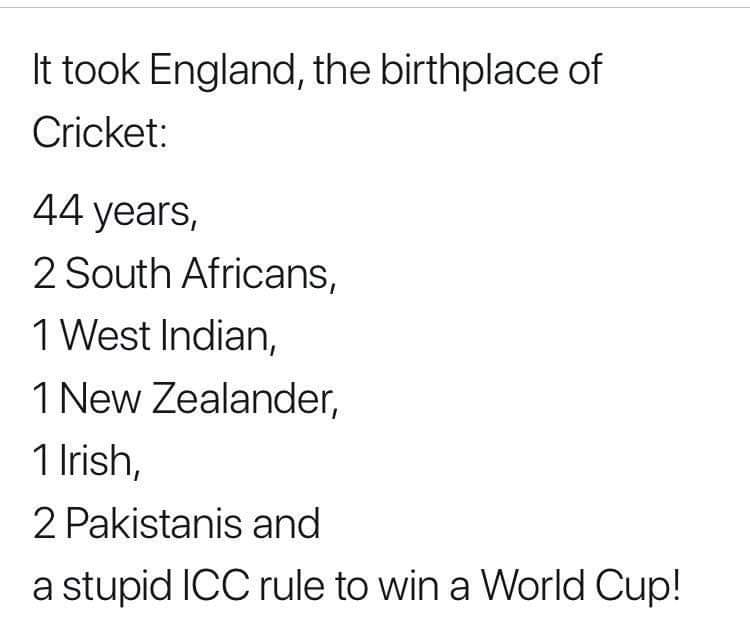 This is funny.  #ICCWorldCup2019 #ENGvsNZ<br>http://pic.twitter.com/iHWdqnkF7h
