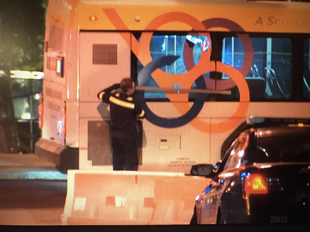 Live@530am police said a man killed by Cobb County transit bus in Midtown may have been riding a scooter #wabtv