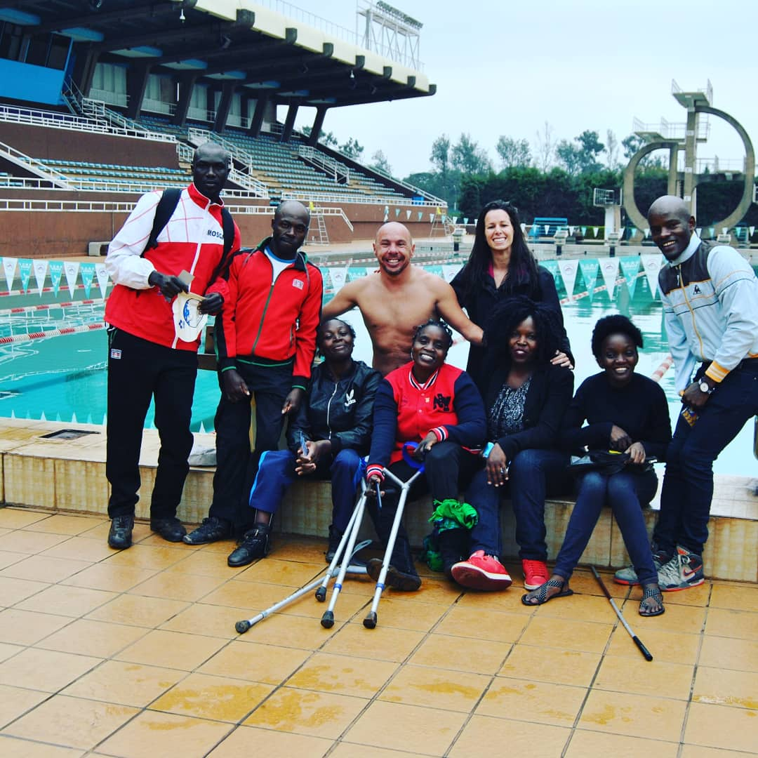 Thanks Kenya  Paraswimming to welcome us and let me share a very good practice with your swimmers. Can't wait too meet you again.   #paraswimming #paralympic #coaching<br>http://pic.twitter.com/gYhW3a4fFG