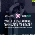 Image for the Tweet beginning: BitCore is now integrated into