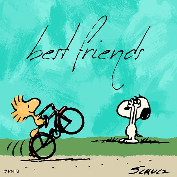 Best friends through and through.