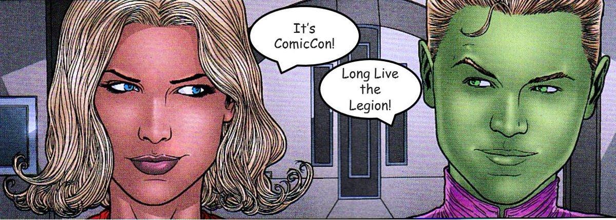 #ComicCon #comicon2019 #SDCC19 #sdcc #longlivethelegion #legionofsuperheroes #supergirl #brainy #brainiac5 #losh #lll