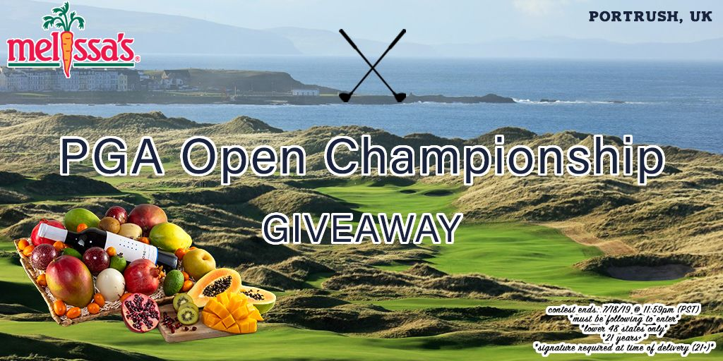 *GIVEAWAY* Want to win a fresh Fruit Gift Basket!? ⛳️🤩 Now is your chance to win this AWESOME gift basket to celebrate #TheOpen Golf Championship showcasing the best of the @PGATOUR. *RETWEET & tag your friends now to enter* @TheOpen #LiveUnderPar