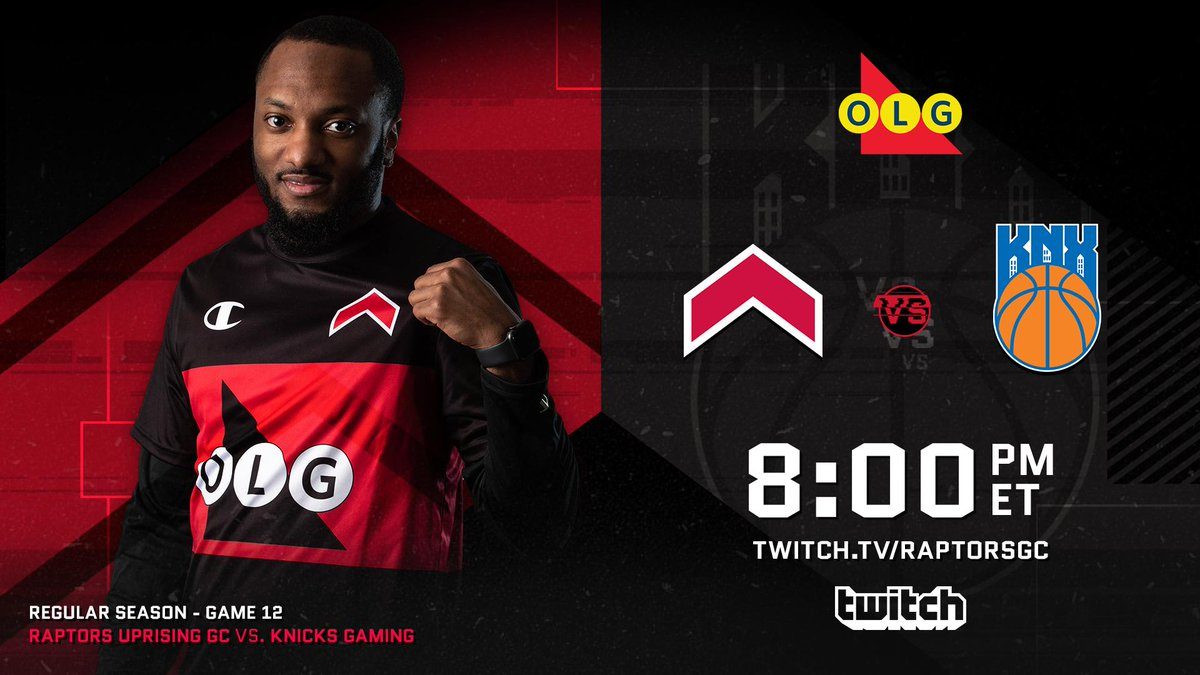 It's the final @OntarioLottery Game Day of the szn Us vs the reigning Champs with @TheReelPhilD & @FanumTV in our corner #RTZ2K #WeTheNorth 📺 Watch » Twitch.tv/RaptorsGC 📰 Preview » rpt.rs/Week12Preview