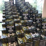 Image for the Tweet beginning: Signing books at Waterstones